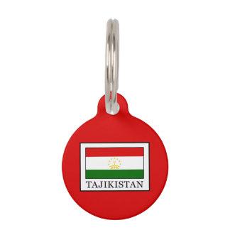 Tajikistan Pet Tag