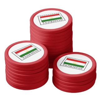 Tajikistan Poker Chips