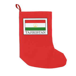 Tajikistan Small Christmas Stocking