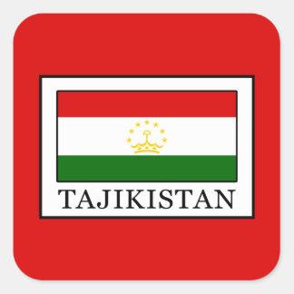 Tajikistan Square Sticker