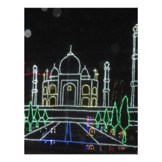 TajMahal Taj Mahal Mughal Architecture Personalized Letterhead
