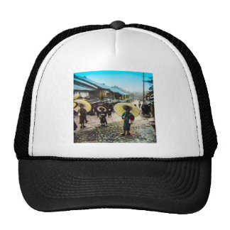 TAKAGI Glass Magic Lantern Slide School Children Trucker Hat