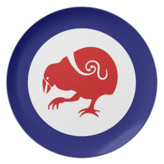 Takahe Air Force Roundel Dinner Plate