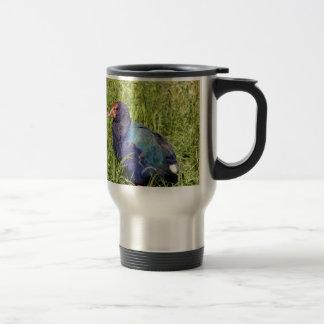 Takahe, endangered native New Zealand bird Travel Mug