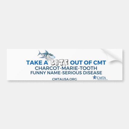 take a bite out of CMT Bumper Sticker