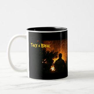 Take a Break! Large Coffee Mug