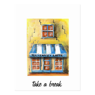 Take a Break Postcard