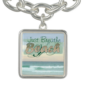 Take a Breather at the Beach Charm Bracelet