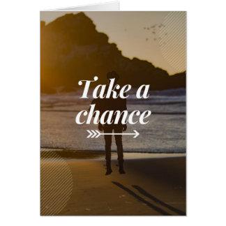 Take A Chance Card