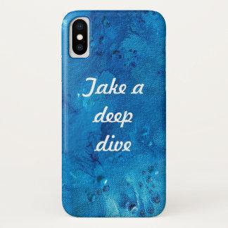 Take a deep dive phone case