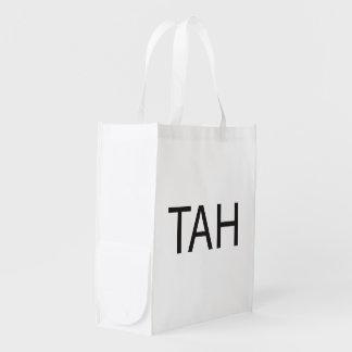 Take A Hike ai Reusable Grocery Bags