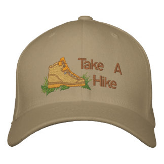 Take A Hike Embroidered Hat