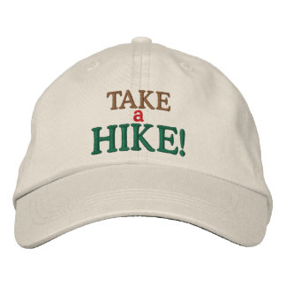 Take a Hike! Embroidered Hats