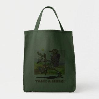 Take a Hike! Grocery Tote Bag