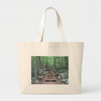 Take a Hike! Jumbo Tote Bag
