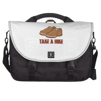 Take A Hike Laptop Messenger Bag
