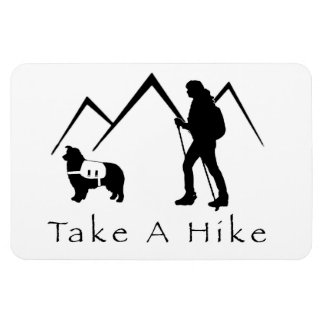 Take a Hike Magnet- Aussie/Pack Magnet