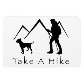 Take a Hike Magnet-Pitbull/Mountain Magnet