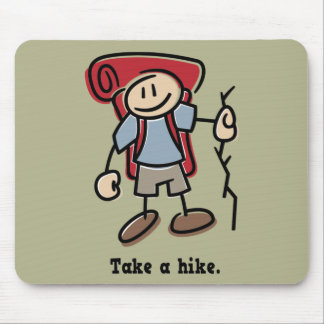 Take a Hike Mouse Pad