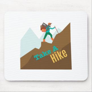 Take A Hike Mouse Pads
