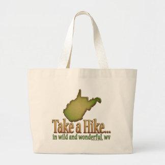 Take a Hike...State_2 Jumbo Tote Bag