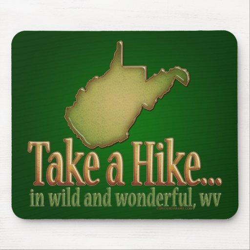 Take a Hike...WVState Mouse Mat