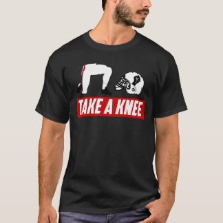 Take a Knee American Social Justice Football Fight T-Shirt