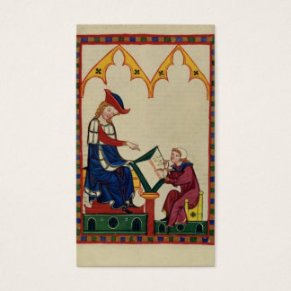 Take a letter- Medieval secretary Business Card