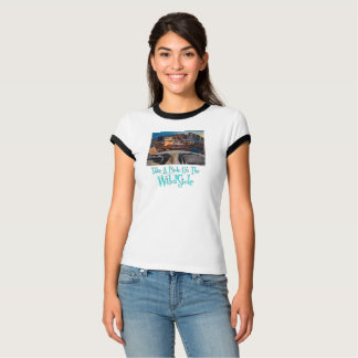 """""""Take A Ride on the WildSide"""" Ringer T-Shirt"""