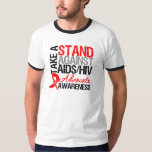 Take a Stand Against AIDS HIV T-Shirt