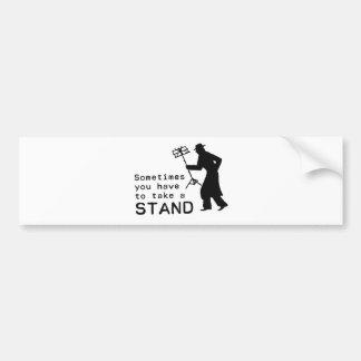 Take a Stand Bumper Sticker