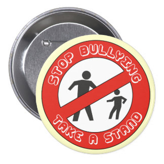 Take a Stand, Stop bullying button