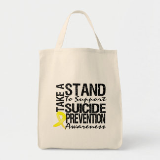 Take A Stand To Support Suicide Prevention Tote Bag
