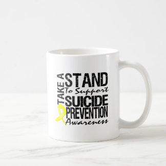 Take A Stand To Support Suicide Prevention Mug