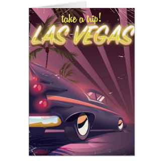 Take a trip to Las Vegas Nevada! Card