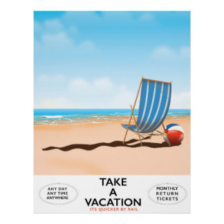 Take a Vacation Poster