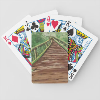 take a walk bicycle playing cards