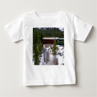 Take A Winter Ride On The Georgetown Loop Railroad Baby T-Shirt
