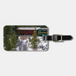 Take A Winter Ride On The Georgetown Loop Railroad Luggage Tag