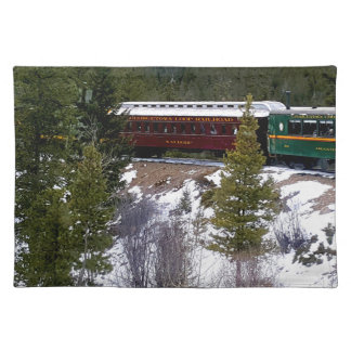 Take A Winter Ride On The Georgetown Loop Railroad Placemat
