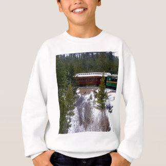Take A Winter Ride On The Georgetown Loop Railroad Sweatshirt