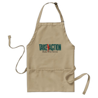 Take Action Bake For Good Apron