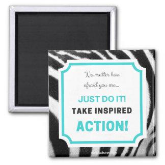 Take Action Magnet