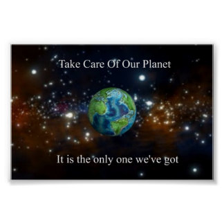 Take Care of Our Planet Poster