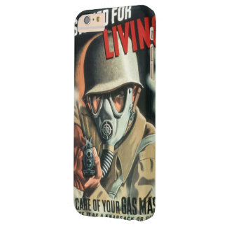 Take Care of Your Gas Mask Barely There iPhone 6 Plus Case