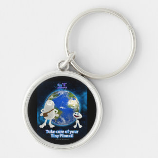 Take Care of Your Tiny Planet Keychain