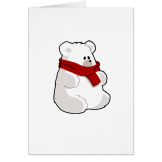 Take Care, Polar Bear Get Well Greeting Card