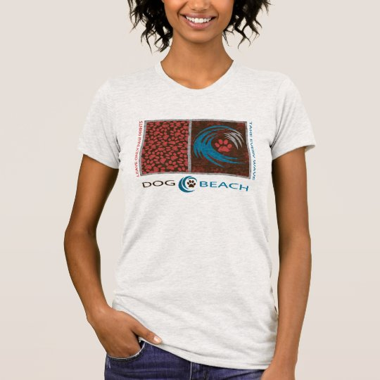 Take Every Wave, Leave Only Paw Prints T-Shirt