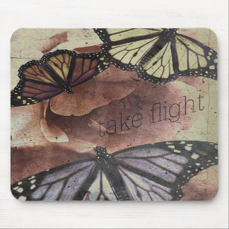 take flight {collage love mouse pad