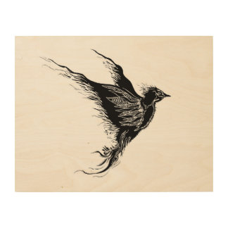 Take Flight Wood Canvas